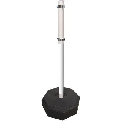 Reflective PVC Sign Stanchions