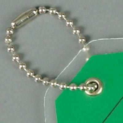 Metal Bead Chain Tag Fasteners