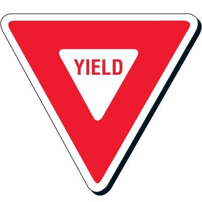 Yield Traffic Signs