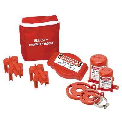 Brady® 99679 Valve Lockout Pouch Kit