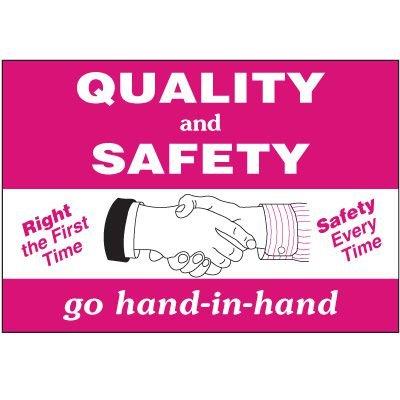 Quality & Safety Wallchart
