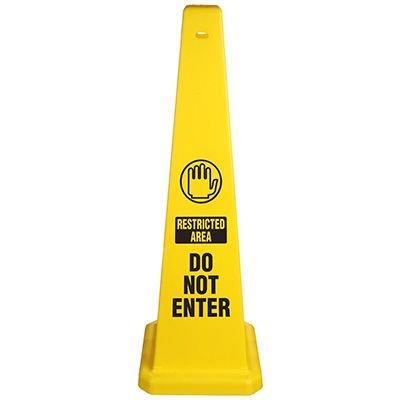 Do Not Enter Safety Cone