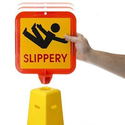 Caution Tripping Hazard Safety Cone
