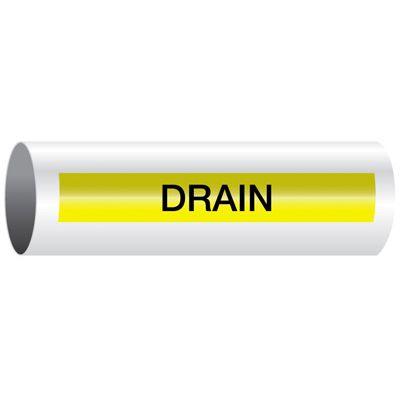 Drain - Opti-Code® Pipe Markers
