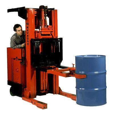 Drum Grab Forklift Attachment, One Handle