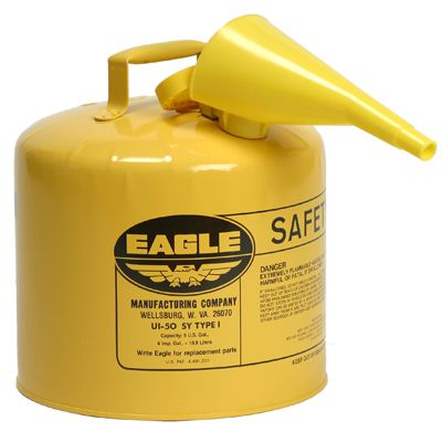 Eagle® Type I Metal Safety Can, 5 Gallon