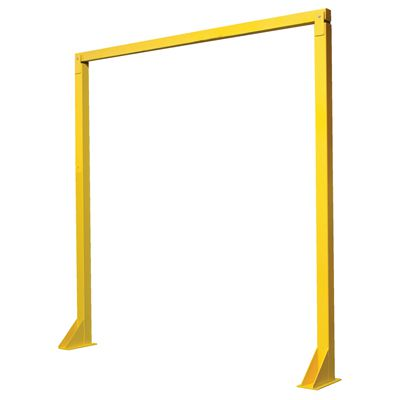Economical Overhead Door Warning Barriers