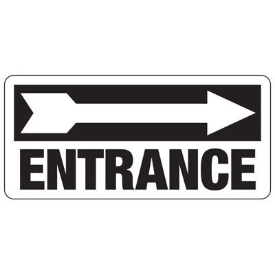 Entrance Safety Sign