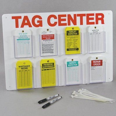 One Year Only Plastic Inspection Tag 370 Pack