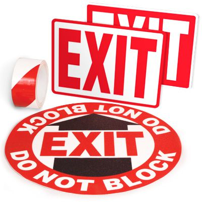 Exit Identification Kits - Exit