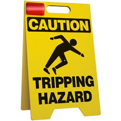 Caution Tripping Hazard Floor Stand