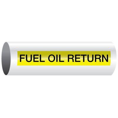 Fuel Oil Return - Opti-Code® Pipe Markers