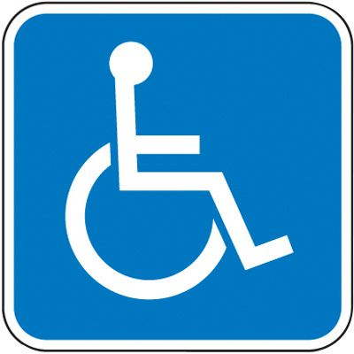 Handicap Signs - Handicap Symbol