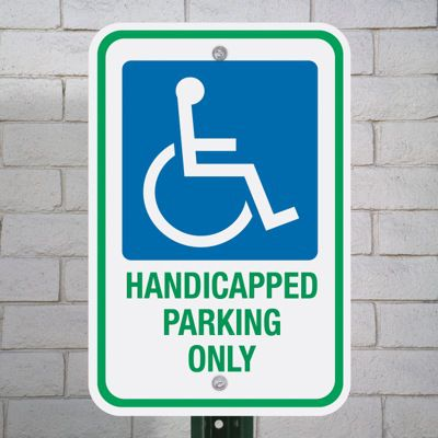 Handicapped Signs - Handicapped Parking Only