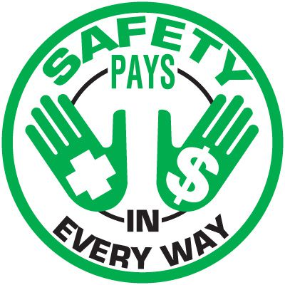 Safety Training Labels - Safety Pays