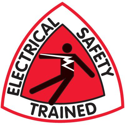 Safety Training Labels - Electrical Safety Trained