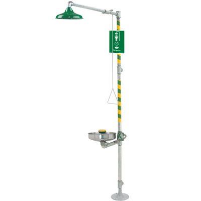 Haws® Barrier-Free Combination Shower/Eyewash Station  8309WC