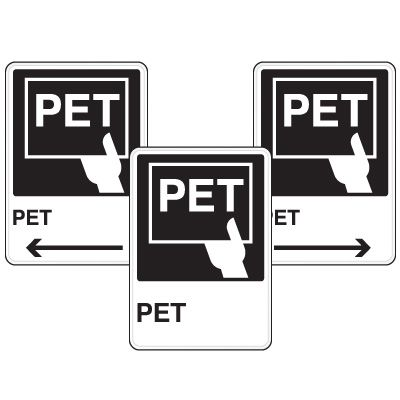 Health Care Facility Wayfinding Signs - PET
