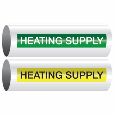 Heating Supply - Opti-Code™ Self-Adhesive Pipe Markers