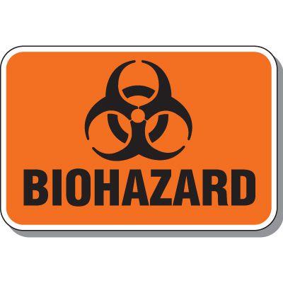 Heavy-Duty Biohazard Sign