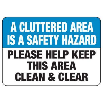 Safety Hazard Sign