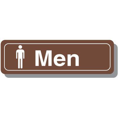 Men's Restroom Decor Signs