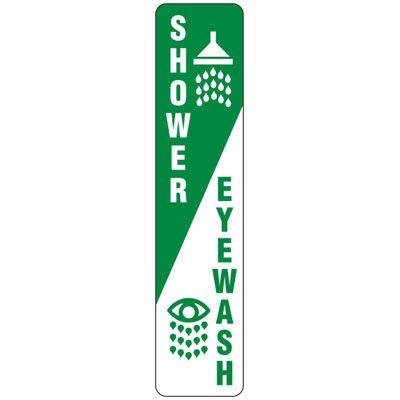 Shower Eyewash Sign