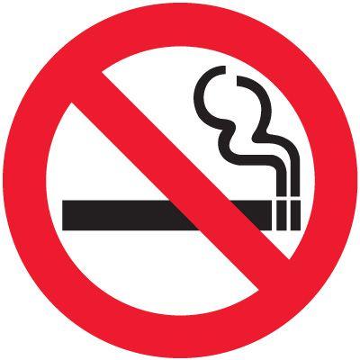 International Symbol Labels No Smoking
