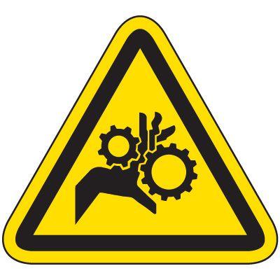 International Symbol Labels - Pinch Point
