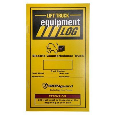 IRONguard™ Lift Truck Equipment Log Replacement