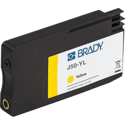 Brady BradyJet J5000 J50-YL Ink Cartridge - Yellow