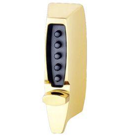 KABA Mechanical Door Locks - 7000 Series Chrome Latch Lock (w/ Adjustable Backset)
