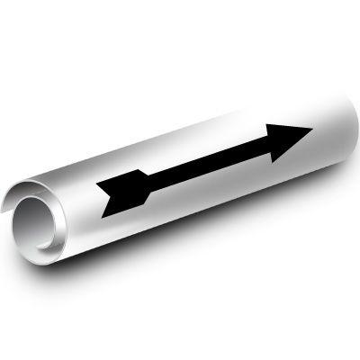 White Arrow Kwik-Koil Pipe Markers