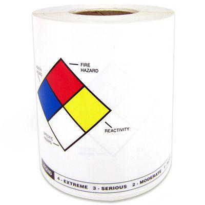 LabelTac™ NFPA/RTK Die-Cut Printer Labels