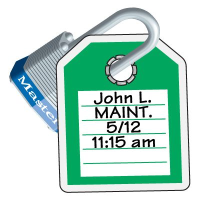 Lock-Out ID Tags - This Tag & Lock To Be Removed Only By __