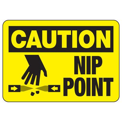 Nip Point Sign