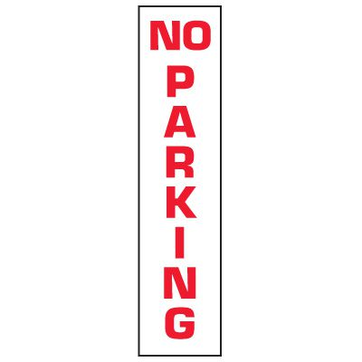 Marking Stakes - Caution No Parking