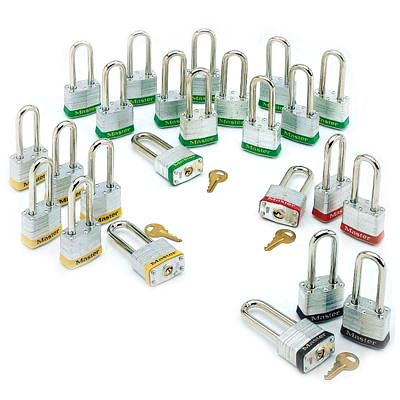 Master Lock® Steel Padlock Sets