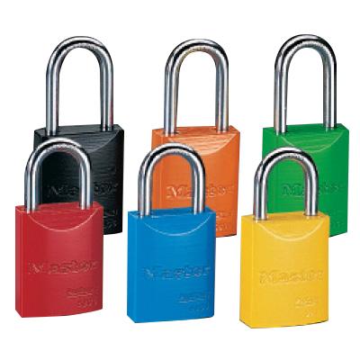 Master Lock® Powder Coated Aluminum Padlocks