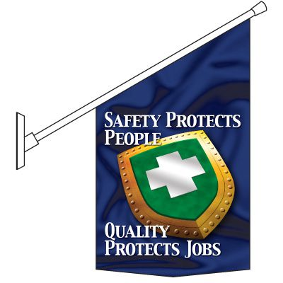 Safety Protect People Banner