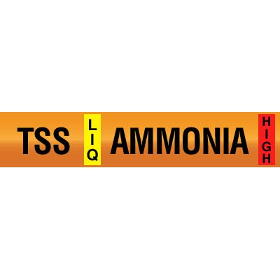 Thermosyphon Supply - Opti-Code™ Ammonia Pipe Markers
