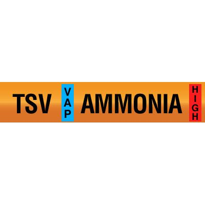 Thermosyphon Vent - Opti-Code™ Ammonia Pipe Markers