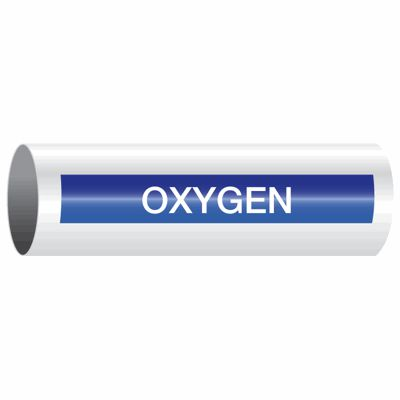 Oxygen - Opti-Code™ Self-Adhesive Pipe Markers