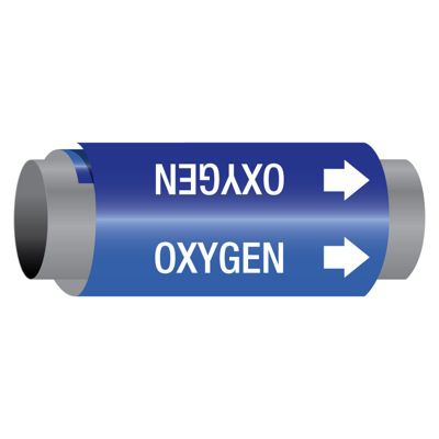 Oxygen - Ultra-Mark® Self-Adhesive High Performance Pipe Markers