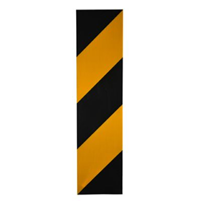 Pedestrian Crossing Decal-Yellow/Black