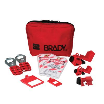 Brady® Circuit Breaker Lockout Pouch