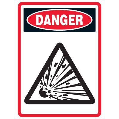 Pictogram Mining Sign - Explosive