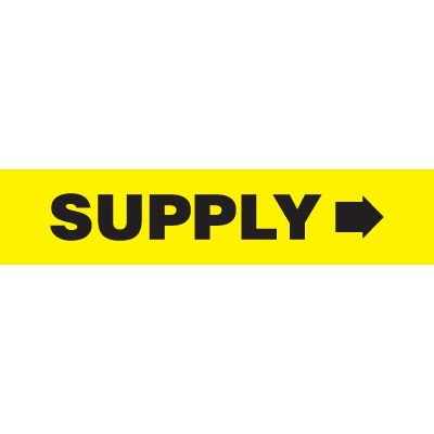 Supply Pipe Markers