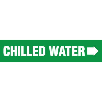 Chilled Water Pipe Markers