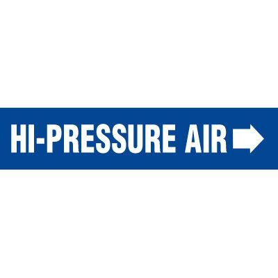 Hi-Pressure Air Pipe Markers